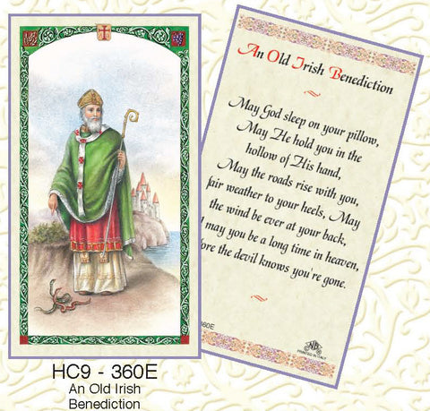 Irish Benediction - St. Patrick - Discount Catholic Store