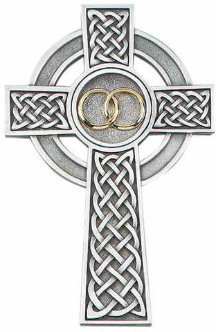 Celtic Wedding Cross - Discount Catholic Store
