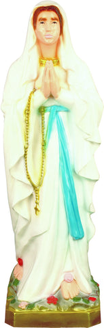 "Our Lady of Lourdes 24"" Outdoor Statue"