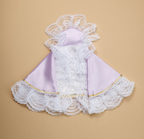 Infant of Prague Dress Lavender