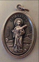 St. Agatha  Medal - Discount Catholic Store
