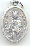 St. Barbara  Medal - Discount Catholic Store
