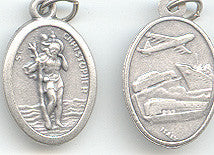 St. Christopher/Land~Sea~Air  Medal - Discount Catholic Store