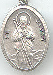 St. James  Medal - Discount Catholic Store
