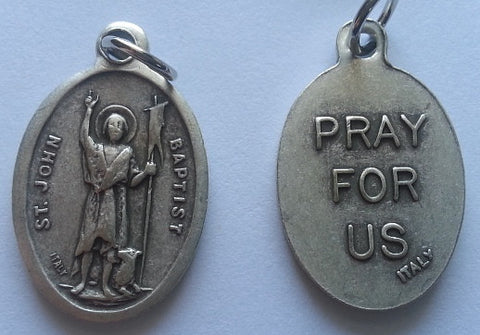 St. John the Baptist  Medal - English  Medal - Discount Catholic Store