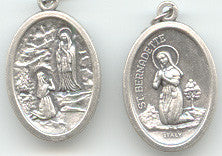 Our Lady of Lourdes  Medal - Discount Catholic Store