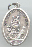 Our Lady of the Rosary  Medal - Discount Catholic Store