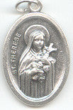 St. Therese, Little Flower  Medal - Discount Catholic Store
