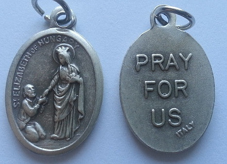 St. Elizabeth of Hungary  Medal - Discount Catholic Store