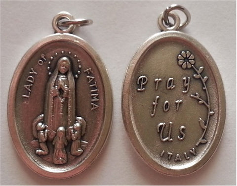 Our Lady of Fatima  Medal - Discount Catholic Store