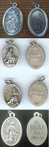 St. Rocco  Medal - Discount Catholic Store