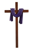 "10"" Lenten Robe Cross Various Colors - Discount Catholic Store"