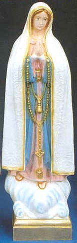 Outdoor Statue - Our Lady of Fatima 24""