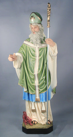 St. Patrick 72 Inch Statue - Discount Catholic Store