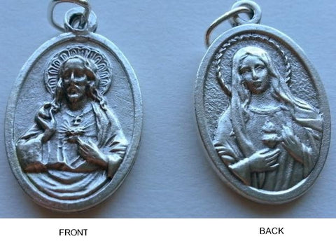 Sacred Heart of Jesus / Immaculate Heart of Mary - Pack of 25