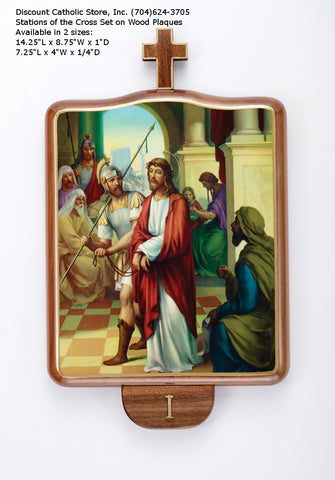 "Stations of the Cross Set 14"" - Discount Catholic Store"