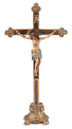 Halo of Christ Crucifix - Discount Catholic Store