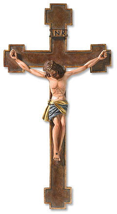 Spanish Style Crucifix - Different Sizes - Discount Catholic Store