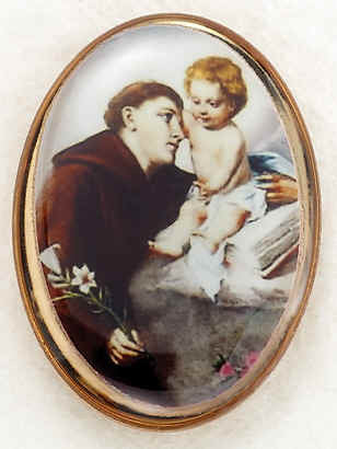 Lapel Pin - St. Anthony 1""