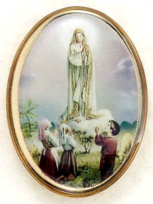 Lapel Pin - Our Lady of Fatima 1""