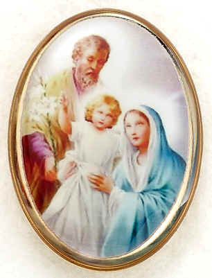 Lapel Pin - Holy Family 1""