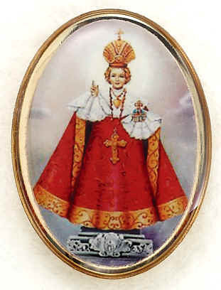 Lapel Pin - Infant of Prague 1""