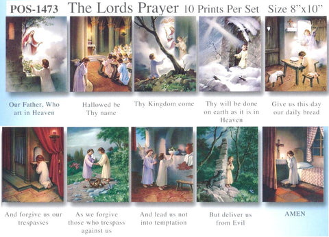 The Lord's Prayer Poster Set - Discount Catholic Store