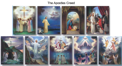 The Apostles Creed Poster Set - Discount Catholic Store