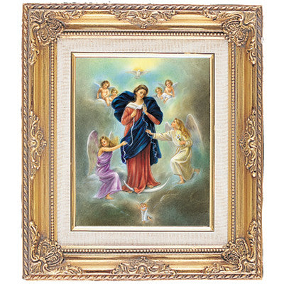 Mary Untier of Knots  Framed Art
