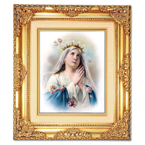 Mary Praying  Framed Art