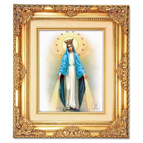 Our Lady of Grace Crowned  Framed Art