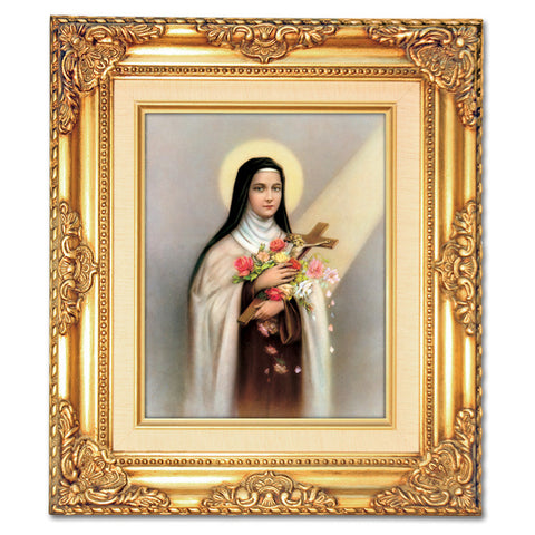St. Therese  Framed Art