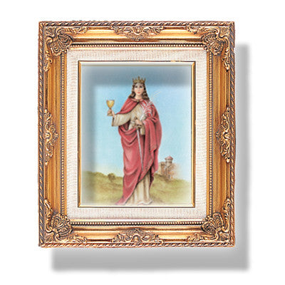St. Barbara  Framed Art