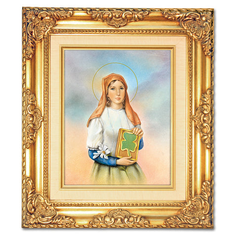 St. Dymphna  Framed Art