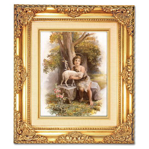 Jesus as a Child  Framed Art