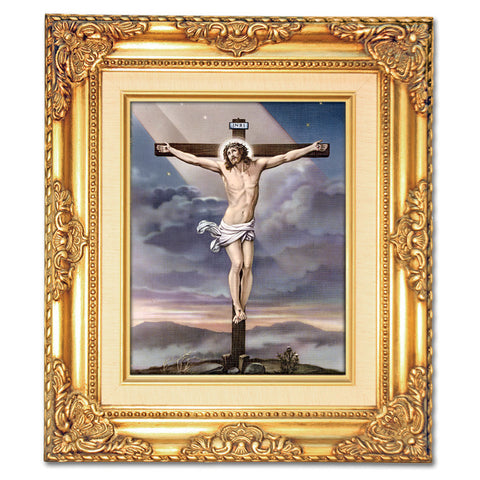 Crucifixion Framed Art