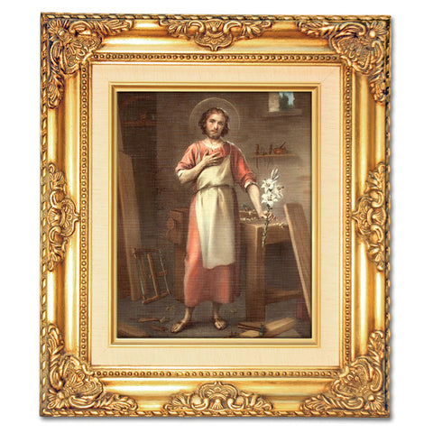 St. Joseph the Worker Framed Art