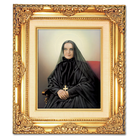 St. Frances Cabrini  Framed Art