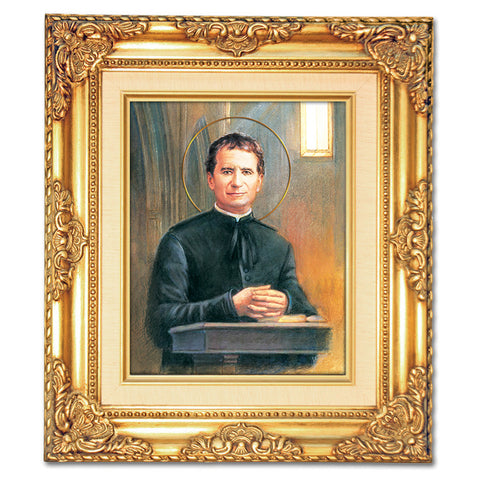 St. John Bosco Framed Art