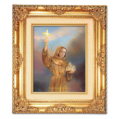 St. Junipero Serra Framed Art