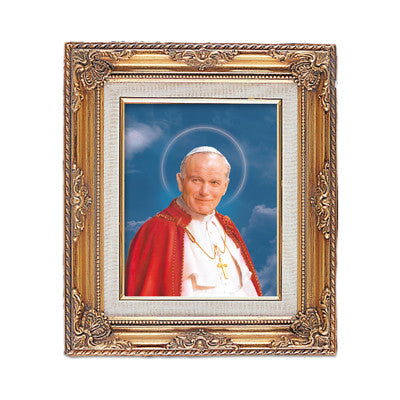 St. John Paul II Framed Art