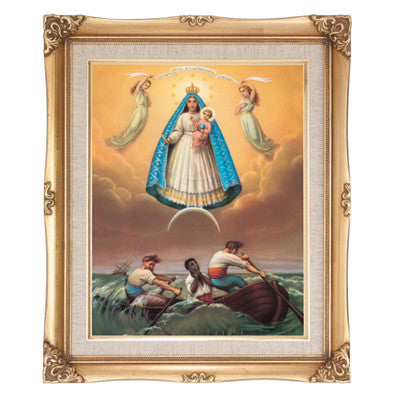 Our Lady of Charity  Framed Art