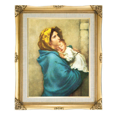 Madonna of the Streets  Framed Art