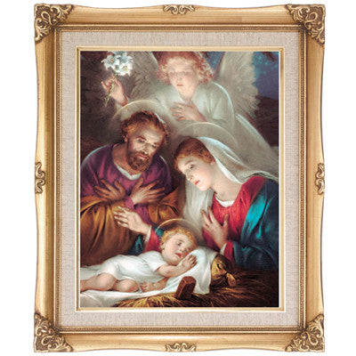 Nativity Scene  Framed Art