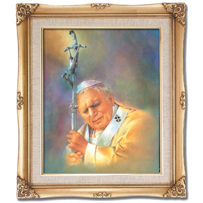 Pope John Paul II  Framed Art