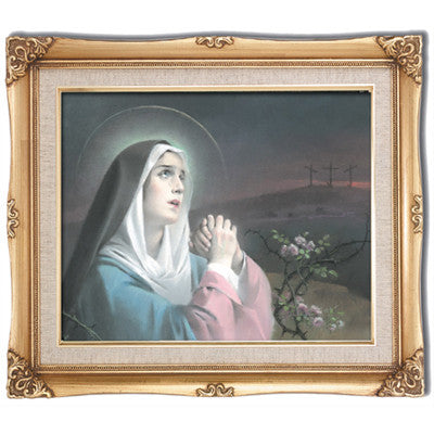 Our Lady of Sorrows Framed Art