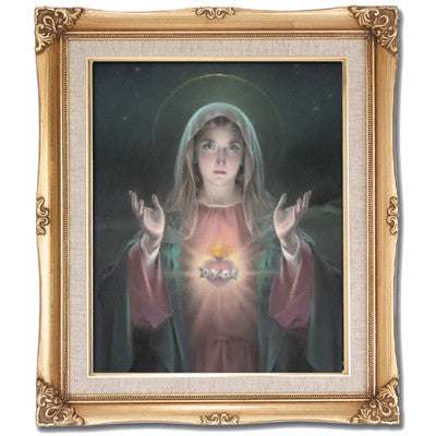 Immaculate Heart of Mary  Framed Art