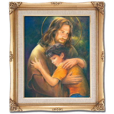 Jesus with Child  Framed Art
