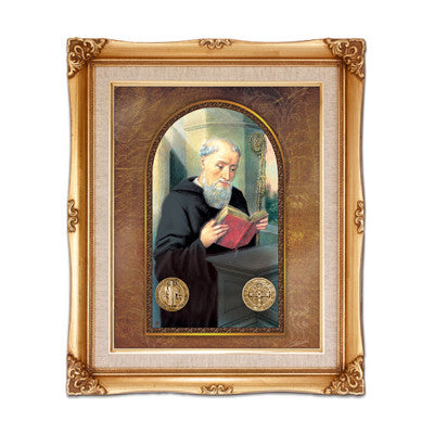 St. Benedict  Framed Art