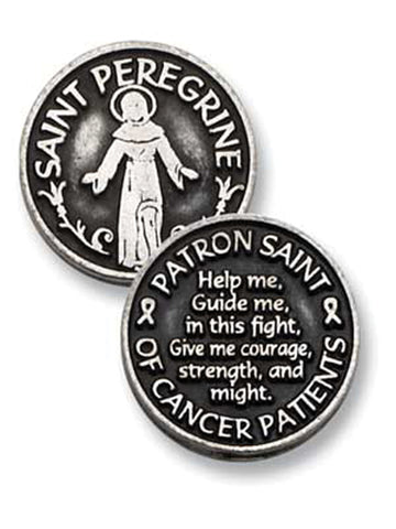 St. Peregrine Pocket Coin